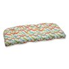 Pillow Perfect Parallel Play Outdoor Loveseat Cushion