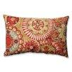Pillow Perfect Indira Cardinal Cotton Lumbar Pillow