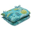 Pillow Perfect Calypso Outdoor Dining Chair Cushion (Set of 2)