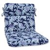 Pillow Perfect Lahaye Indigo Outdoor Chaise Lounge Cushion