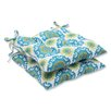 Pillow Perfect Suzani Outdoor Dining Chair Cushion (Set of 2)