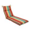 Pillow Perfect Westport Outdoor Chaise Lounge Cushion