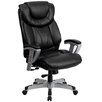Flash Furniture Hercules Series Leather Executive Chair with Arms