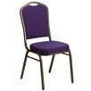 Flash Furniture Hercules Series Crown Back Banquet Chair with Cushion