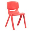 "Flash Furniture 17.75"" Plastic Classroom Chair"