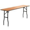 "Flash Furniture 72"" Rectangular Folding Table"