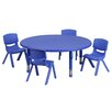 "Flash Furniture 45"" Round Classroom Table"