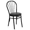 Flash Furniture Hercules Series Fan Back Metal Chair