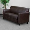 Flash Furniture Hercules Diplomat Series Leather Loveseat