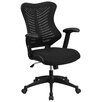 Flash Furniture Mid-Back Chair with Nylon Base