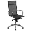 Flash Furniture High Back Mesh Swivel Conference Chair with Synchro-Tilt Mechanism