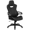 Flash Furniture High Back Executive Swivel Chair with Trim