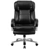 Flash Furniture Hercules Series Leather Executive Chair with Loop Arms