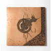 Phillips Collection Abstract Copper Patina Panel Wall Décor