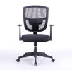 """Antique Revival Darius 35.8"""" Mid-back Mesh Office Chair with Arms"""