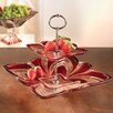 Fifth Avenue Crystal Aurora Crystal Server Tiered Stand
