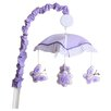 Geenny Boutique Butterfly Music Mobile