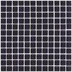 "Interceramic Shimmer 1"" x 1"" Ceramic Mosaic Tile in Nightfall"
