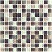 "Interceramic Shimmer Blends 1"" x 1"" Ceramic Mosaic Tile in Autumn"