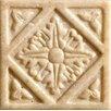 "Marazzi Romancing the Stone 2"" x 2"" Compressed Stone Diamond Insert in Ivory (Set of 3)"