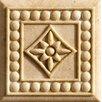 "Marazzi Romancing the Stone 2"" x 2"" Compressed Stone Renaissance Insert in Ivory"