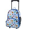 Wildkin Olive Kids Game On Rolling Backpack