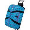 Wildkin Good Times Big Dots Rolling Duffel Bag