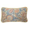 Waverly Treasure Trove Reversible Oblong Cotton Lumbar Pillow