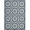 Waverly Sun N' Shade Blue Indoor/Outdoor Area Rug