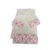 Sherry Kline Romance Decorative 3 Piece Towel Set