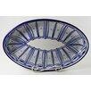Le Souk Ceramique Qamara  Oval Poultry Platter