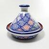 Le Souk Ceramique Cookable Tagine Round with Lid