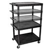 Luxor LP Series AV Cart with Electric