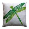 Dermond Peterson Entomology Dragon Fly Linen Throw Pillow