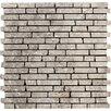 "Emser Tile Trav Rustico 12"" Travertine Field Tile in Silver"