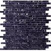 Emser Tile Vista Random Sized Glass Splitface Tile in Blue