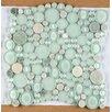 Emser Tile Lucente Random Sized Glass Pebble Tile in Lazzaro