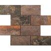 Emser Tile Slate Mosaic Tile in Brick Pattern