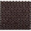 Emser Tile Confetti Porcelain Mosaic Tile in Chocolate