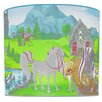 Illumalite Designs Scenic Horseland Drum Lamp Shade