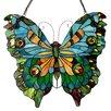 Chloe Lighting Papilo Tiffany Glass Butterfly Window Panel