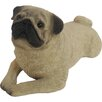 Sandicast Small Size Fawn Pug Sculpture