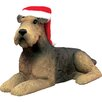 Sandicast Airedale Terrier Christmas Ornament