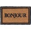 Coco Mats N More Bonjour Doormat