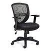 Offices To Go Mid-Back Mesh Tilter Conference Chair