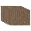 Design Imports Tonal Placemat (Set of 6)