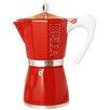 La Pavoni Bella Stainless Steel Stove Top Espresso Maker