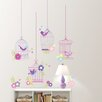 WallPops! Wall Art Kit Chirping The Day Away Wall Decal