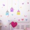 WallPops! Fun4Walls Bird Houses Wall Decal