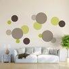 WallPops! Dots 15 Piece Wall Decal Set